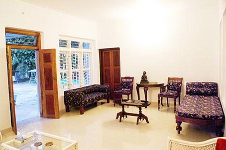 Image of View two of the Drawing Room at Sundara Mahal